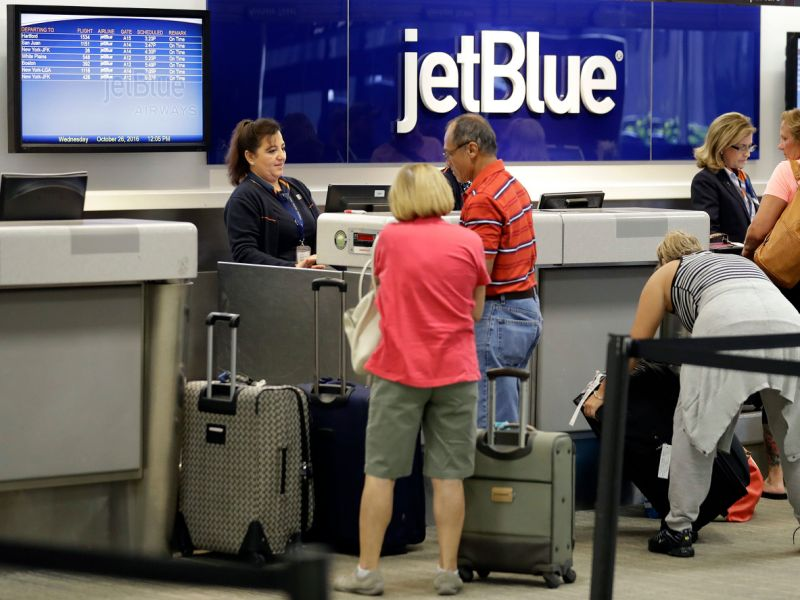 JetBlue Airways baggage