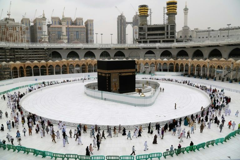 Mecca's Grand Mosque, the holiest site in Islam, has been almost empty since the coronavirus outbreak