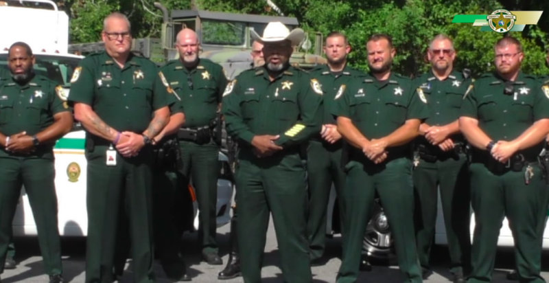 'We'll be waiting on you.' Florida sheriff wants to deputize gun owners against protesters