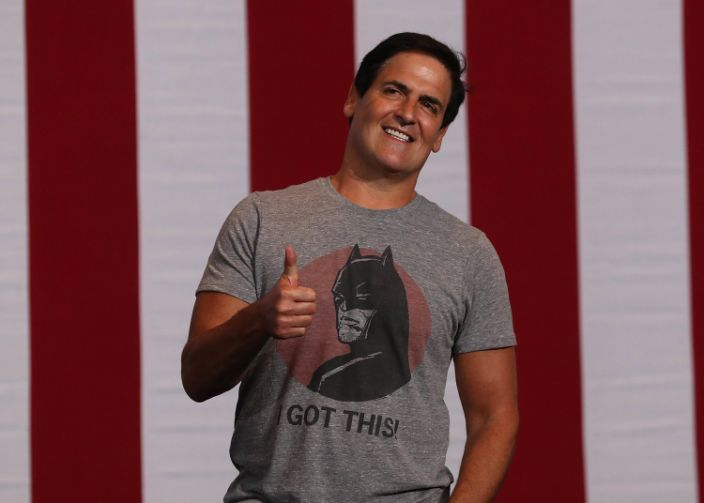 <p>Billionaire Mark Cuban says he has 'hedged the heck' out of his portfolio amid worries over GameStop market war</p> (Justin Sullivan/Getty Images)
