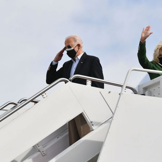 Jill Biden is traveling with newly confirmed Education Secretary Miguel Cardona on Wednesday
