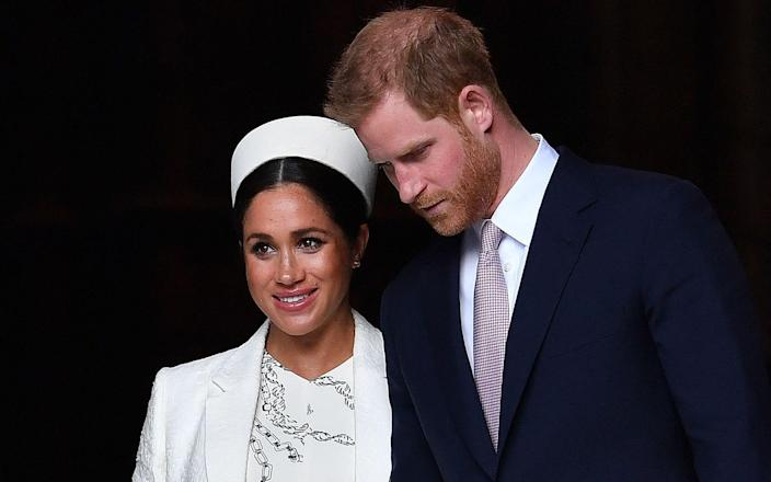 Harry Meghan - BEN STANSALL /AFP